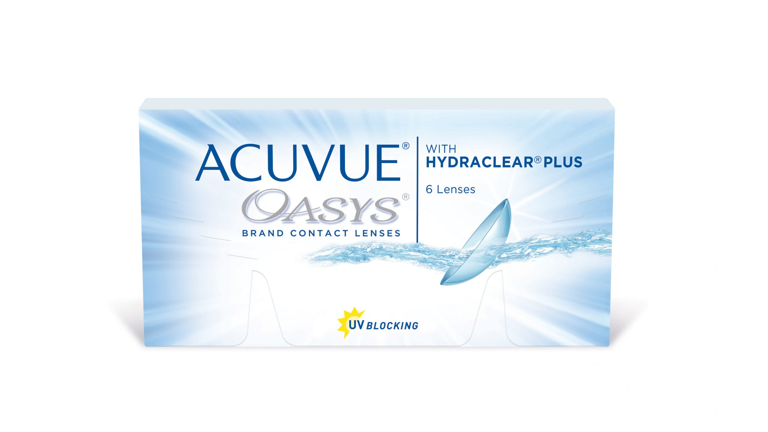 עדשות מגע חודשיות ACUVUE OASYS with HYDRACLEAR PLUS