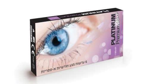 עדשות מגע Platinum Premium